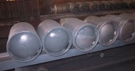 Zinc Sprayed LPG Tanks
