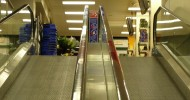 Tesco Metro's Escalator