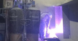 Industrial Steel Fabrication Coatings - Metallizing Thermal Spray